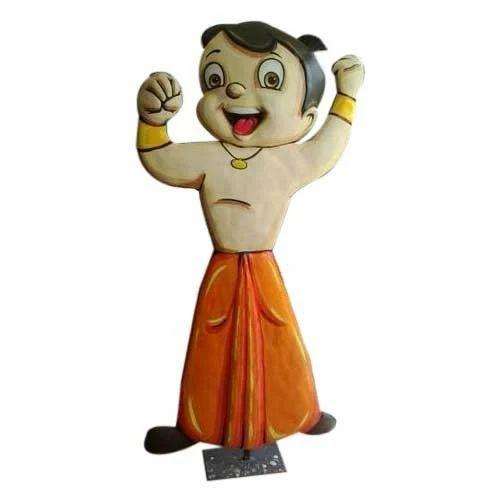 chota bheem fiber statue at rs 3500 piece fiberglass statue id