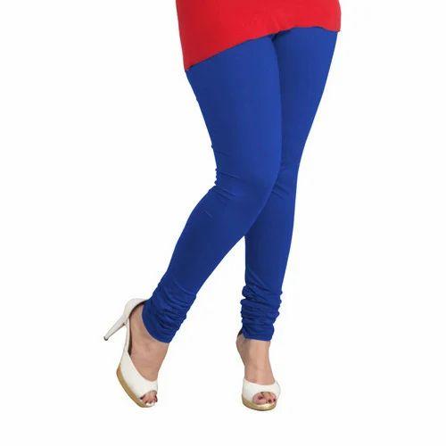 5b81ad482c10a Blue Ladies Plain Legging, Rs 150 /piece, Cherry Blossom ...