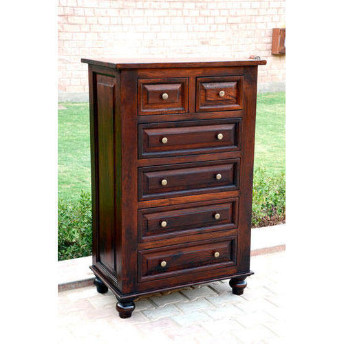 Wooden Tall Cabinet - Wooden Antique Furniture Manufacturer From Jodhpur