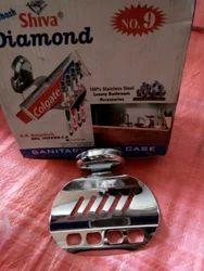 Shiva Diamond Stainless Steel Soap Dish