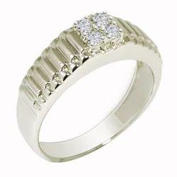 SHRI0591 Men's Silver Ring
