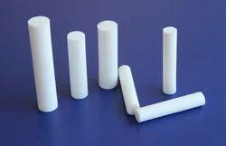 STP White Round Teflon Rods