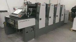 2006 KOMORI Lithron l420. Box Making Machine