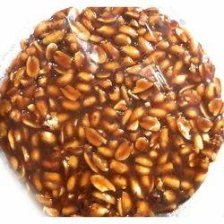 Round Peanut Sweet Chikki