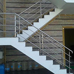 Beau Stainless Steel Staircase Railing