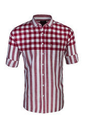 Half Checks & Stripes Shirt