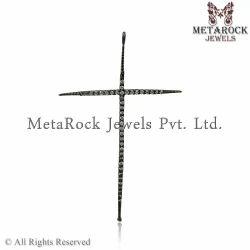 Handmade Cross Charm Pendant