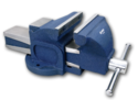 """Cast Iron Groz Professional Mechanics Vice - Bench Vice, 75mm To 300mm, Size: 3"""" To 12"""""""