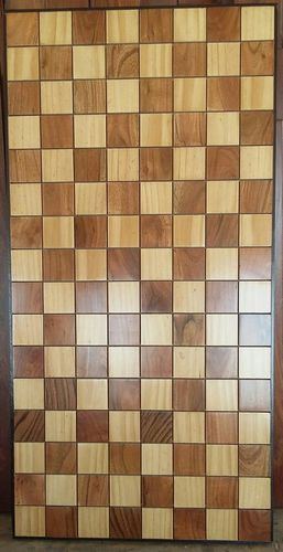 Solid Wood 3 D Wall Panel 002, Size: 28 x 600 x 1200 mm