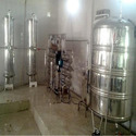 Stainless Steel, Frp Automatic Bottling Plant