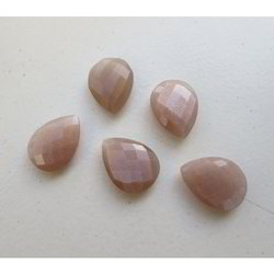 Natural Peach Moonstone Gemstones