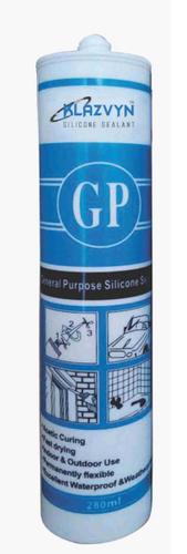 GP & Weather Proof Silicone Sealants, Weight: 480 g