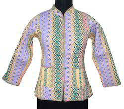 Ramdev Handicrafts Multicolor Girls Winter Jackets, Size: S