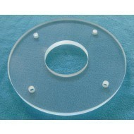 Quartz Glass Plate High Resistance