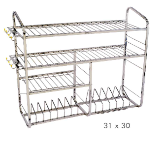stainless steel square pipe kitchen stand - ranakpur steel, mumbai