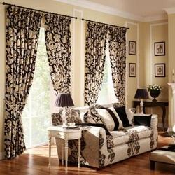 Living Room Curtains, Home Textile U0026 Leather Products | Hongasandra,  Bengaluru | New Traders Private Limited | ID: 11001599755