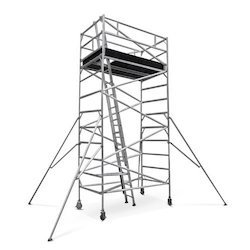 Mobile Tower Scaffold With Stairway
