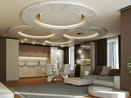 Residential Home Wall POP Services
