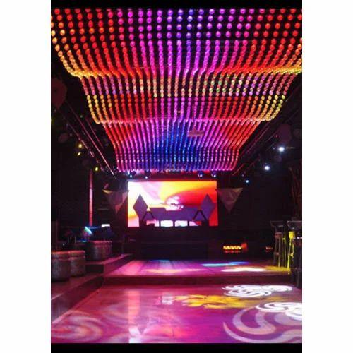 Led Studio Lights India: Ceiling Pixel LED Screen
