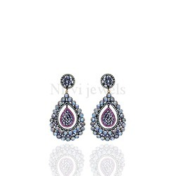 Labrodite Earring