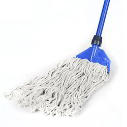 Cotton And Plastic Iron Clip Mop, Size: 48'' Long