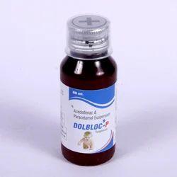Aceclofenac Paracetamol Syrup.