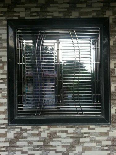 Stainless Steel Grills - Stainless Steel Leser Cuttting Door Grill