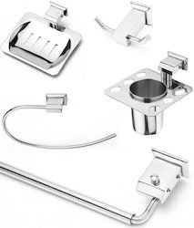 5 Pieces Bathroom Accessories Set (Cloud Series)