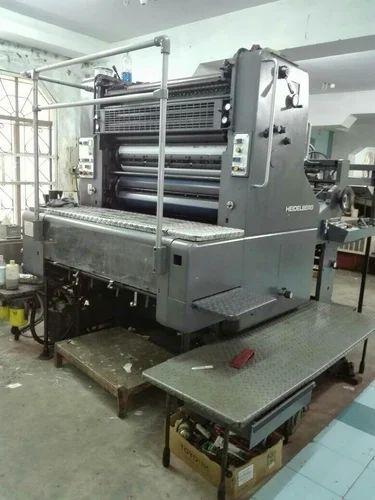 Heidelberg single colour offset printing machine