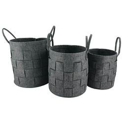 Wool Felt, Non Woven Fabric Felt Basket U