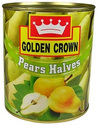 Golden Crown Pears Halves 840 Gm