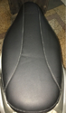 Leather Seat Cover Activa Oe Type Black