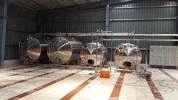 Overhead Milk Storage Tank