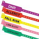 Bio-x Allergy Alert Band, For Clinic, Id Bands