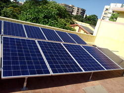 On Grid Solar System for Domestic Purpose