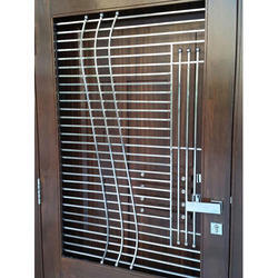 Stainless steel grills in gurgaon ss grills dealers for Balcony grills enclosure designs in india
