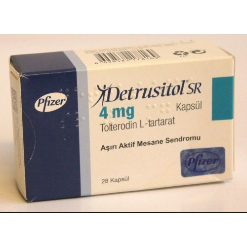 Detrusitol Sr, Packaging Size: 1x7 Capsule, Packaging Type: Strips