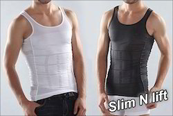 White Slim & Lift Vest for Men