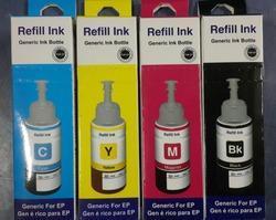 Epson Refill Ink CYMK