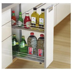 Modular Kitchen Bottle Pull Out, For Kitchen