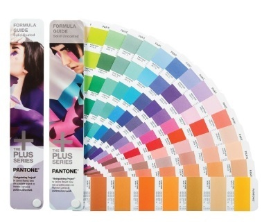 Pantone Formula Guide Coated Uncoated Color Chart Colour