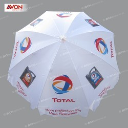 White Garden Umbrella