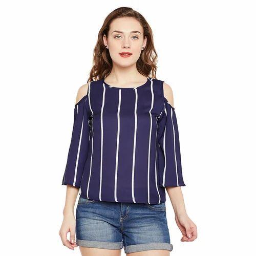 7362f5d7a8f7f Xs   Xl Shirt Cold Shoulder Top