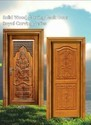 Solid Wood Carving Teak Door