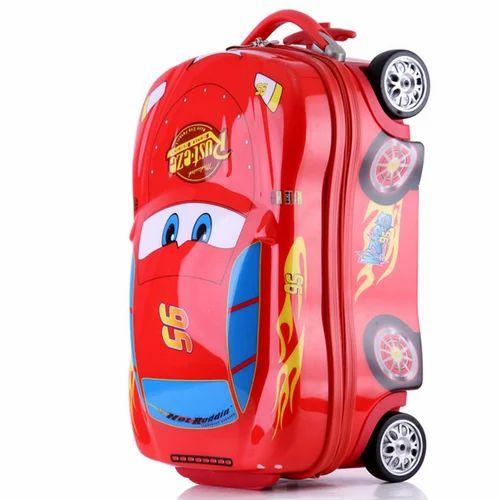 Kids Cartoon Trolley Bag