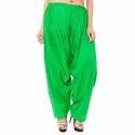 Rayon Green Patiala Salwar