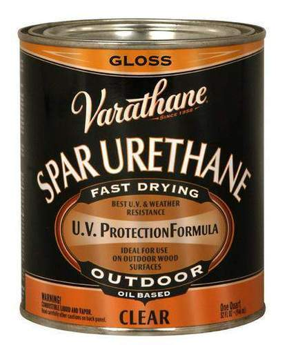 Wood Polyurethane Varnish & Finishes - Rust Oleum Varathane Crystal