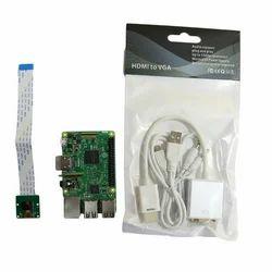 Rasberry Pi3 B+ Raspberry PI Kit, For Project, 1gb