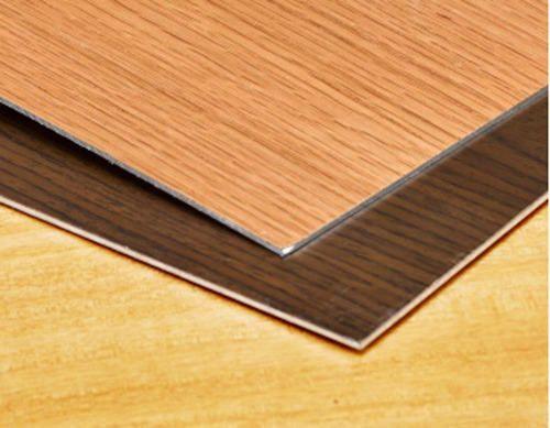 Wood Veneer Aluminium Hardwood Flooring Wooden Floor Tiles