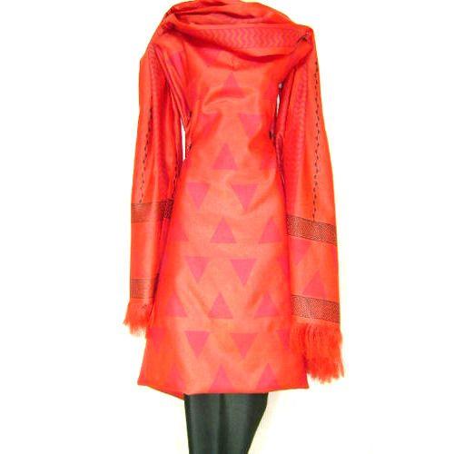 Ladies Silk Unstitched Salwar Kameez Material at Rs 2300 /piece(s ...